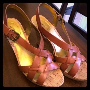 Wedge Brown Guess Sandals